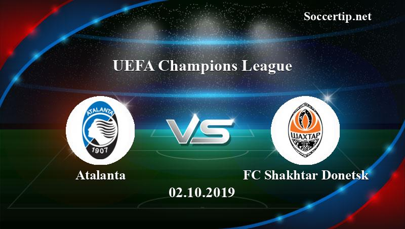 Atalanta vs FC Shakhtar Donetsk Prediction, Betting Tips ...