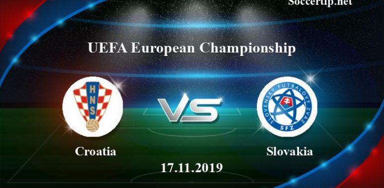 Croatia vs Slovakia Prediction, Betting Tips –  17/11/2019
