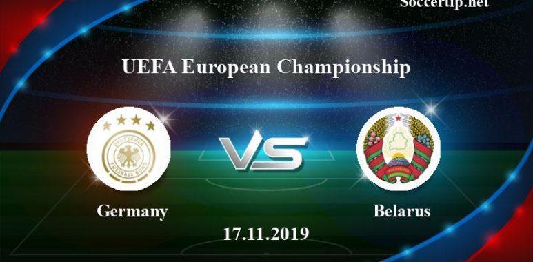 Germany vs Belarus Prediction, Betting Tips –  17/11/2019