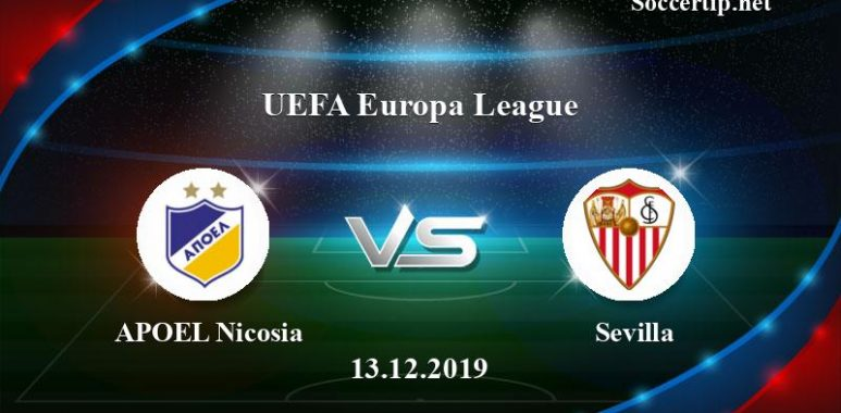 APOEL Nicosia vs Sevilla Prediction, Betting Tips –  13/12/2019