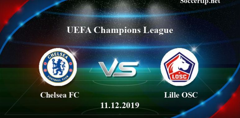 Chelsea FC vs Lille OSC Prediction, Betting Tips –  11/12/2019