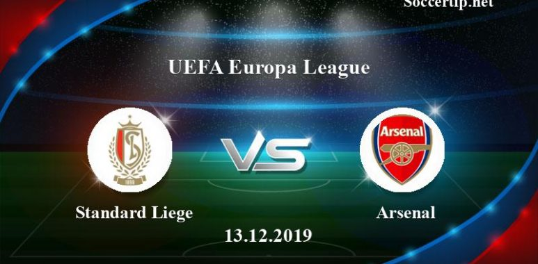 Standard Liege vs Arsenal Prediction, Betting Tips –  13/12/2019