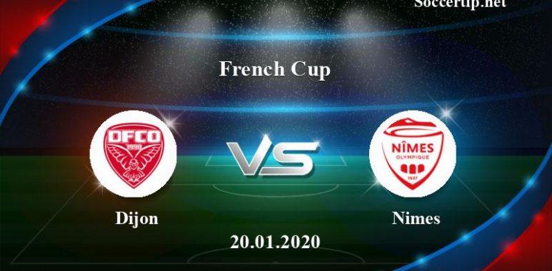 Dijon vs Nimes Prediction, Betting Tips –  20/01/2020