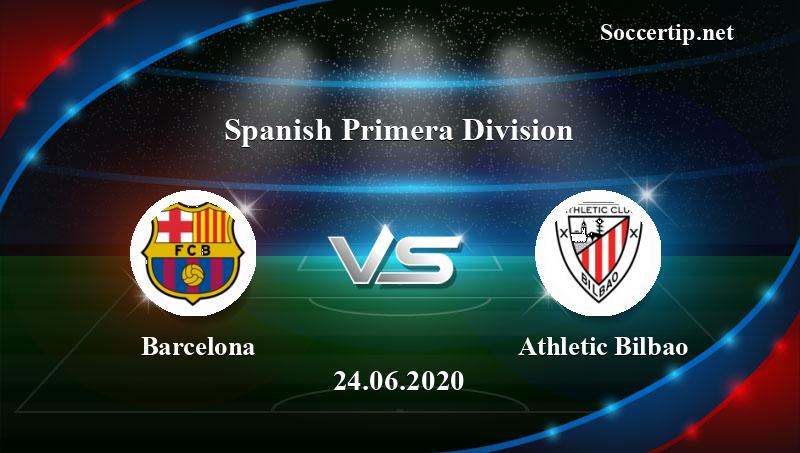 Barcelona vs Athletic Bilbao Prediction, Betting Tips - 24 ...