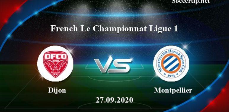 Dijon vs Montpellier Prediction, Betting Tips –  27/09/2020
