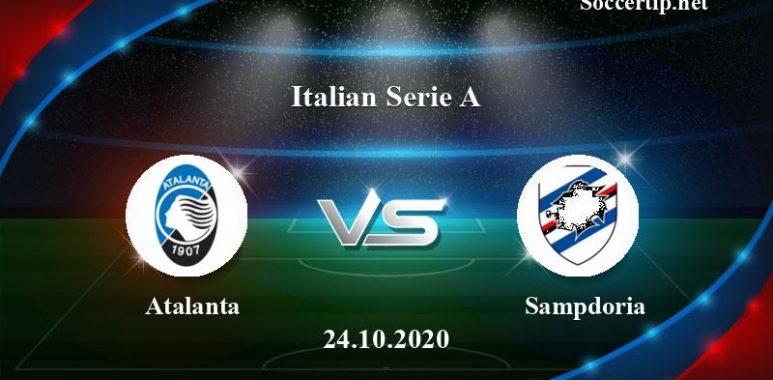 Atalanta vs Sampdoria Prediction, Betting Tips –  24/10/2020